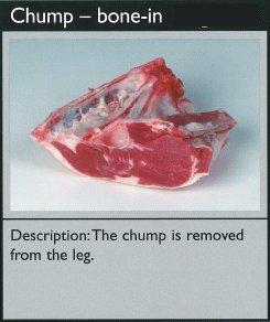 Cuts of lamb - chump - bone-in