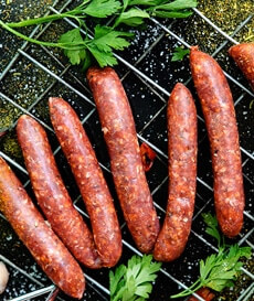 Euro Quality Lambs - British lamb products - casings - merguez sausages